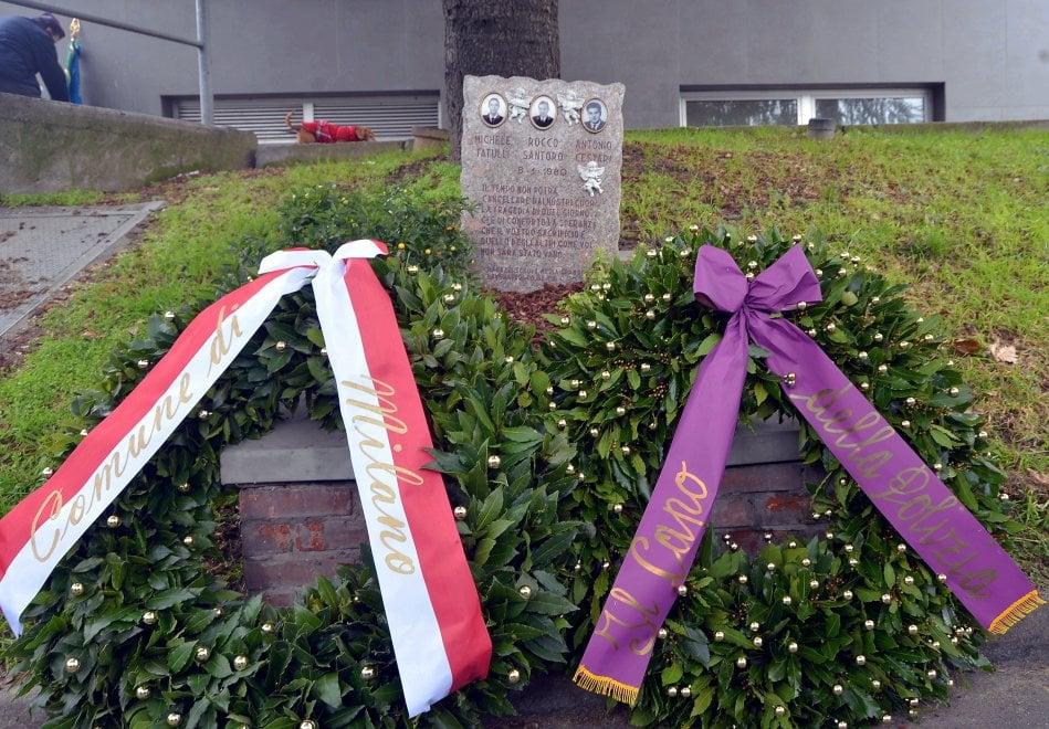 Milano non dimentica: 40 anni dopo la commemorazione dei poliziotti uccisi dalle Brigate Rosse in via Schievano