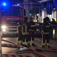 Incendio in una palazzina a Vigevano, otto persone in ospedale per accertamenti