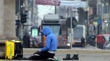 La preghiera dei rider musulmani nel traffico