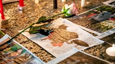 Foto  La veglia degli studenti iraniani per le vittime dell'aereo abbattuto