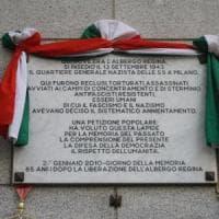 Giornata della Memoria, l'albero di Perlasca e la corona all'Albergo Regina: