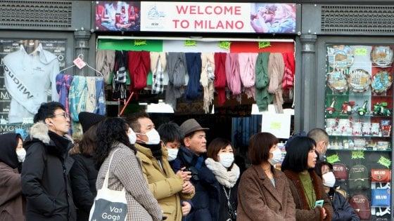 Coronavirus, a Milano turisti cinesi in calo del 40%. A Como