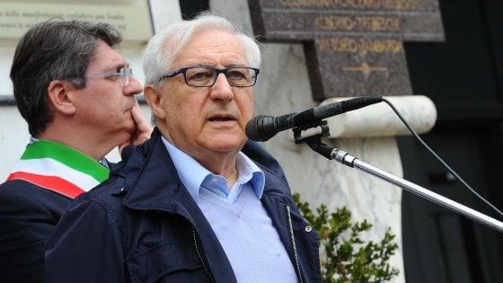 Strage di piazza della Loggia, laurea honoris causa a Manlio Milani dall'università di Brescia