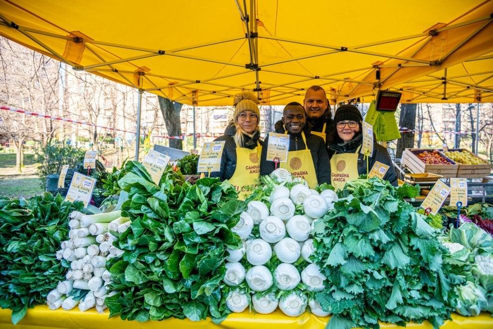 Campagna Amica, il mercato agricolo di Coldiretti arriva ogni settimana a Crescenzago