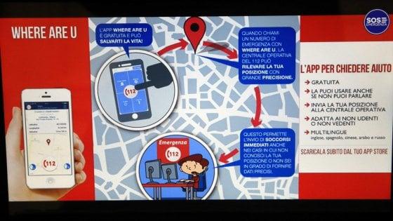 Chiamate geolocalizzate in automatico al 112: così i soccorsi arriveranno in fretta all'indirizzo giusto