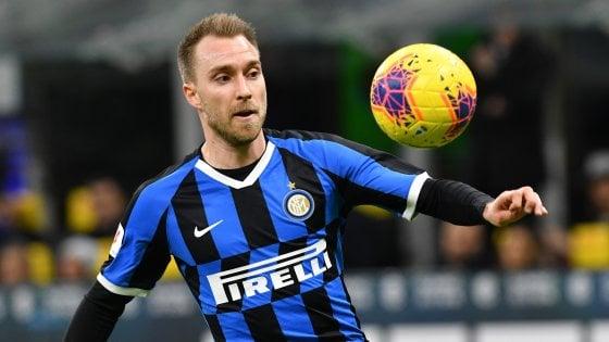 Inter, Conte concede un break. Contro la Lazio con Eriksen titolare?