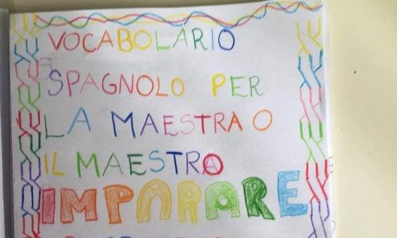 Arabo, cinese, spagnolo, bengalese: i bambini creano i vocabolari delle parole gentili per i loro insegnanti italiani