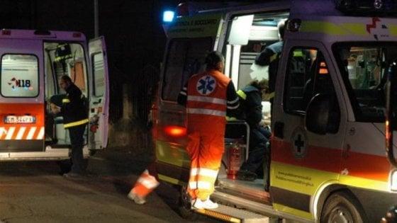 Scontri frontali tra auto, morti due uomini nella notte