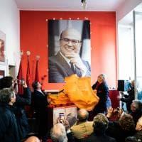 A Milano inaugurata la sezione Psi dedicata a Bettino Craxi con il figlio Bobo e Paolo Pillitteri