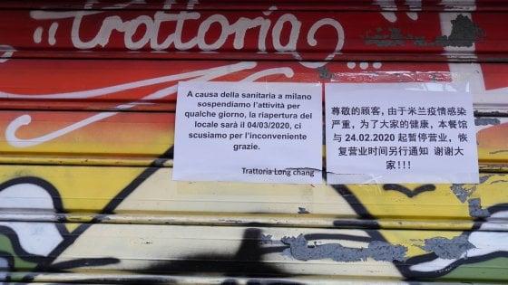 """Coronavirus a Milano, chiudono manicure, parrucchieri, bar e ristoranti cinesi: """"Rispetto per il momento che la città sta vivendo"""""""