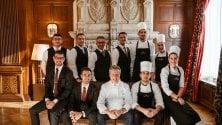 """Nuova stella per il ristorante """"Da Vittorio"""" a St. Moritz. Tutto iniziò con i piatti di pesce a Bergamo"""