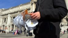 Coronavirus, multato l'ambulante che vendeva mascherine alla Stazione Centrale