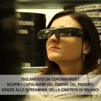 Tutti a casa per il coronavirus? La cineteca di Milano mette in streaming