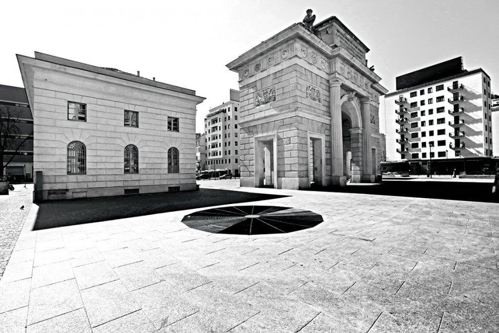 La Milano metafisica nei giorni del coronavirus