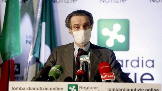 """Coronavirus in Lombardia, Fontana contro Boccia: """"Dal ministro dichiarazioni avventate e inopportune"""""""