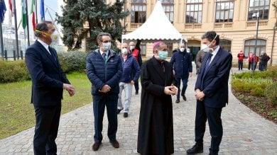 Monsignor Delpini benedice l'ospedale in Fiera. Primi pazienti domenica     · Foto