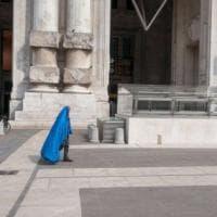 Coronavirus, la Milano dei senzatetto