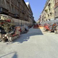 Coronavirus, ruspe e gru restano ferme: a Milano il silenzio nei cantieri bloccati
