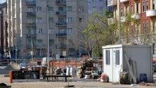 Ruspe e gru restano ferme: il silenzio nei cantieri bloccati