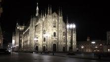 """Duomo illuminato ogni notte fino a Pasqua: """"Incoraggiamento per la lotta al coronavirus"""""""