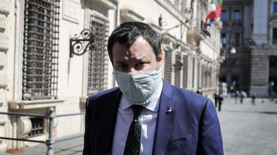"""Coronavirus, Salvini contro procura e governo: """"Sbagliato mandare ora ispettori negli ospedali"""". E chiede la riapertura della Lombardia"""