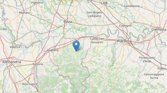Scossa di terremoto nel Pavese, magnitudo 3,5-4: avvertita anche a Milano