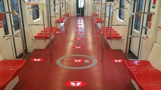 La Fase 2 del coronavirus: a Milano un milione di posti in meno in metropolitana per mantenere le distanze