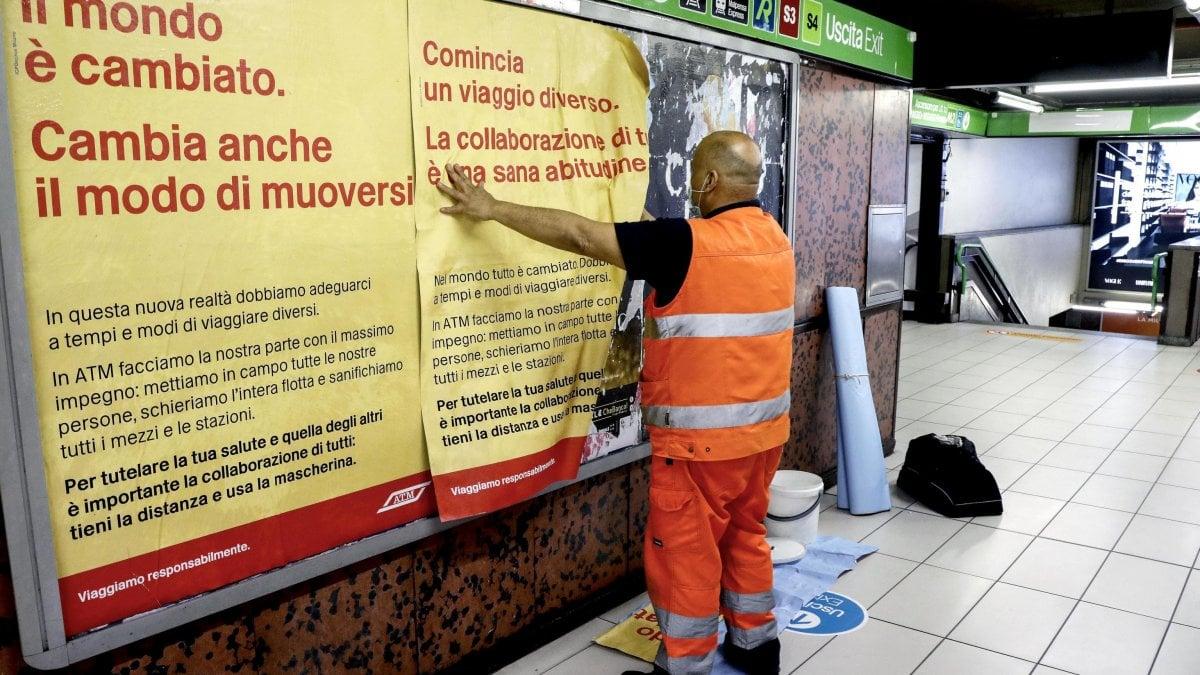 Automazione E Sicurezza Gorgonzola fase 2 coronavirus a milano, per i trasporti rischio lunedì