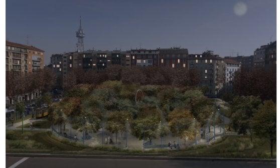 Un nuovo polmone verde in piazza VI Febbraio, due scuole rifatte e un progetto per coprire il Vigorelli: gli interventi generati da CityLife