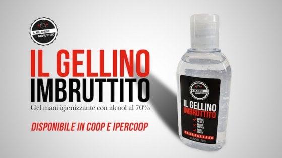 """Arriva """"Gellino"""", il disinfettante per le mani del Milanese Imbruttito. E c'è un fine solidale"""