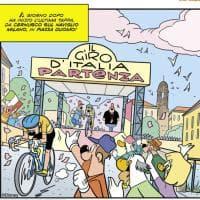 Il Giro d'Italia di Zio Paperone: la storia di copertina di Topolino passa da Milano