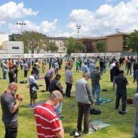 Fine del Ramadan nel campo di calcio: la scelta della comunità di Milano per rispettare le norme anti-assembramento