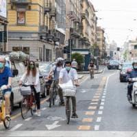 Fase 2 a Milano, la ciclabile di corso Buenos Aires piace ai ciclisti: 6