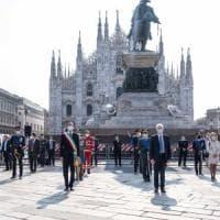 Festa della Repubblica, a Milano alzabandiera in piazza e tricolore alle