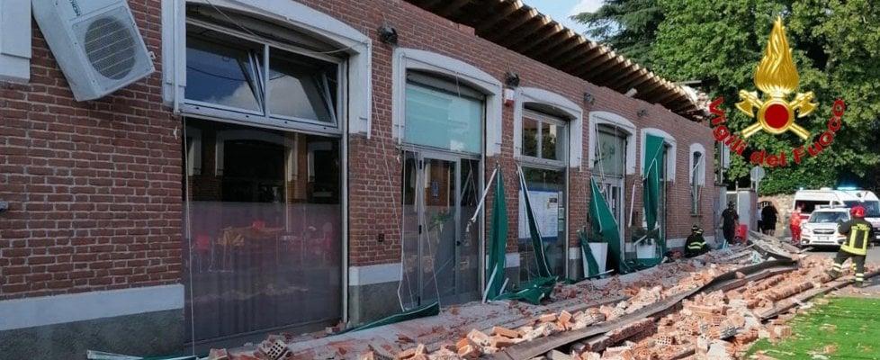 Crolla il tetto di un edificio in provincia di Varese, muoiono una donna e i suoi due bambini