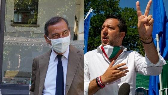 """Salvini: """"Candidarmi a sindaco di Milano? A fine carriera sicuramente sì"""". Sala: """"Se mi ripresento non mi preoccupo degli avversari"""""""
