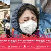 A Bergamo foto e parole raccontano il lockdown sui cartelloni affissi per la città
