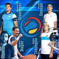 I big del tennis azzurro si sfidano nell'Oltrepo pavese: in campo Sonego, Travaglia, Mager e Giannessi