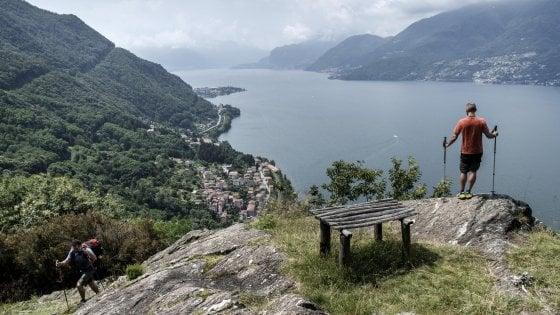 Il sentiero del viandante sul lago di Como: il primo dei Cammini d'Italia del Touring per il turismo lento