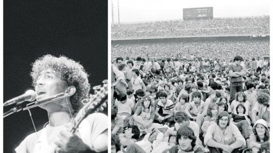 """Edoardo Bennato ricorda il concerto di San Siro, 40 anni dopo: """"Che emozione sentire cantare 80mila persone"""""""