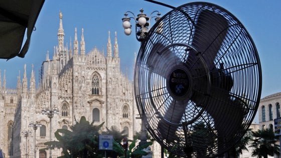 Meteo, due giorni da bollino rosso a Milano tra temperature reali e percepite. Ma domenica previsti temporali