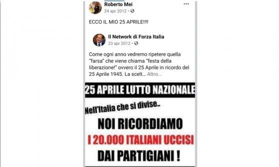 Neofascismo, quando il candidato forzista di Corsico (appoggiato da Italia Viva) inneggiava al Duce