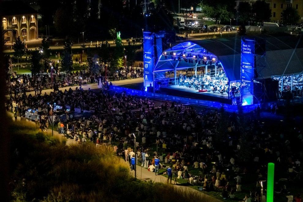 Oltre 6000 spettatori per ascoltare Beethoven alla Biblioteca degli alberi