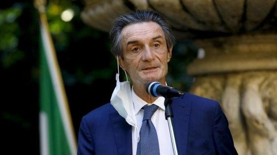 """Referendum, il governatore lombardo Fontana: """"Penso proprio di votare no"""""""