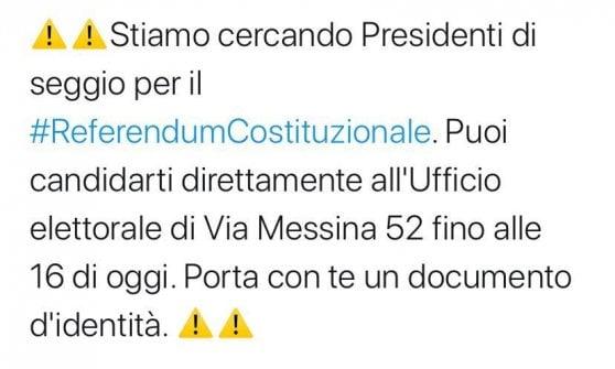 Referendum, presidenti di seggio in fuga: il Comune di Milano in extremis trova tutti i sostituti