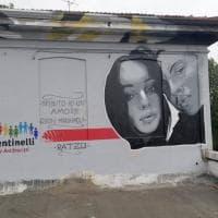 """""""Il futuro rubato di Maria Paola e Ciro"""": un murale a Milano per ricordare la ragazza uccisa in Campania"""