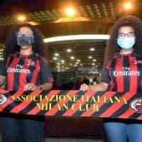 A San Siro torna il pubblico per Milan-Bologna: ma è una prova generale con soli mille spettatori