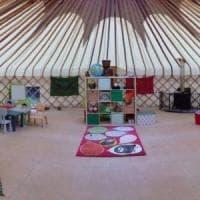 La yurta urbana in un parco di Milano: raccolta fondi per comprare una tenda