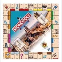 La nuova edizione del Monopoly ha la mappa di Bergamo, il gioco da tavola