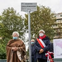 A Milano il nuovo giardino dedicato a Teresa Pomodoro, la fondatrice del Teatro No'hma